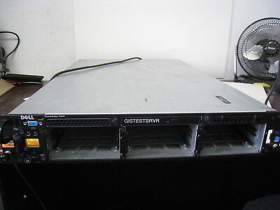 Dell Poweredge 2850 Network Rack Server two 3 6ghz