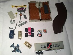 Vintage MicroMachines cars and parts