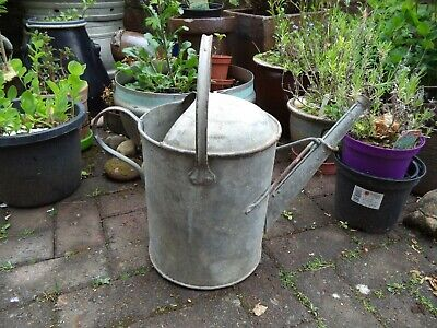 Vintage Galvanised Watering Can Galvanized 2 Gallon
