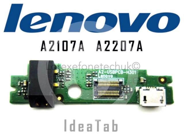 GENUINE Micro USB / Audio DC Charge Board PCB for Lenovo IdeaTab A2107A A2207A