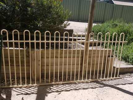 pool spa fence and gate.