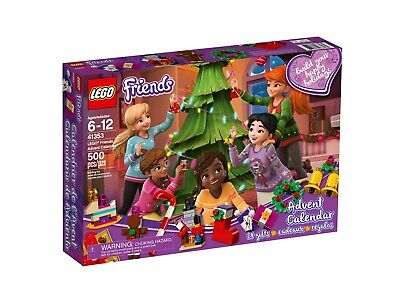 Lego Friends 41353 Advent Calendar With Christmas Decorations Year 2018 New /
