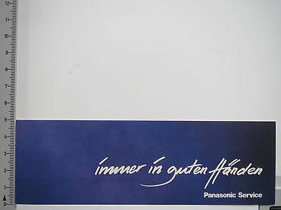 Aufkleber Sticker Panasonic Service - Audio Video Hifi - in guten Händen (6626) Panasonic Audio-video