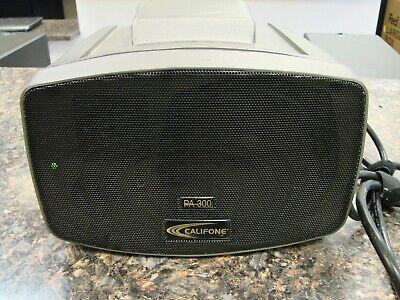 Califone Pa-300 Presentation Pro Stereo Portable Pa Speaker Quantity Available