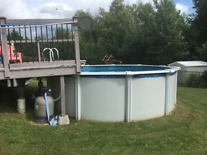 15 Foot Above Ground Pool
