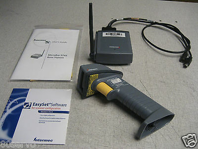 Intermec Sabre 1552 Wireless Barcode Scanner 9745 Base Station Software