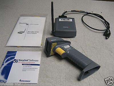 Intermec Sabre 1552 Wireless Barcode Scanner 9745 Base Station Software