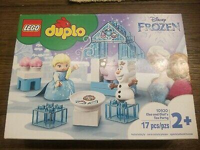 New LEGO DUPLO Disney Frozen Elsa and Olaf's Tea Party 10920 Playset 17 pcs