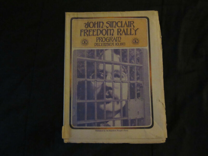 John Sinclair Freedom Rally Program