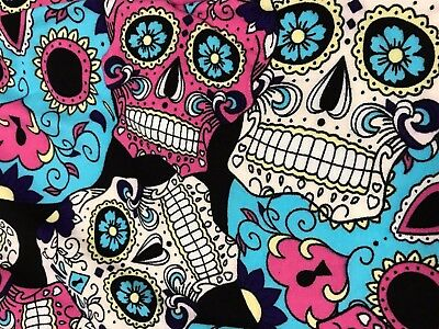 NEW Women's TC Sugar Skull BLACK Buttery Soft Leggings NWT Skeletons Plus Size ](Skeleton Leggings Plus Size)