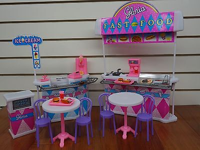 Gloria,Barbie Doll House Furniture/(96008) Fast-Food Play Set