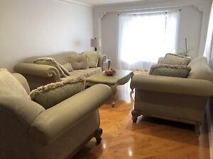 Living room couches and coffee tables for sale