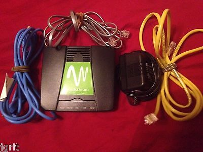 Windstream 4200 Dsl Adsl Modem Usb Ethernet Broadband Siemens Internet Pc Phone