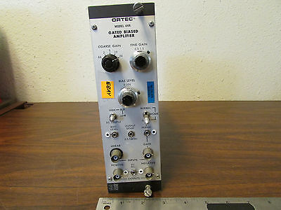 Egg Ortec Model 444 Gated Biased Amplifier Nim Bin Nimbin Plugin