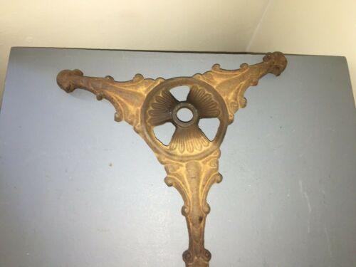 Antique Cast Ornate Iron Table Base