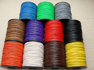 (0,0599 €/m) 100m Kabel Litze Schaltlitze Kupferlitze 0,14mm² freie Farbwahl TOP