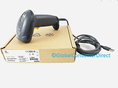 Motorola Ds4208-dl00007wr 1d 2d Drivers License Barcode Pos Scanner Usb Cable