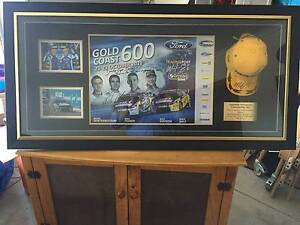 Mark Winterbottom Cap and Picture both signed & framed.(Adelaide) Adelaide CBD Adelaide City Preview