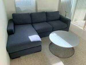 3 Seater Chaise Couch