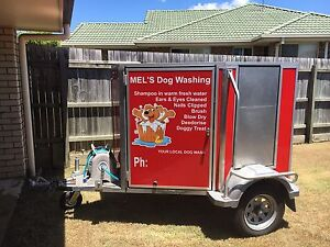 Mobile dog washing/grooming trailer Bray Park Pine Rivers Area Preview