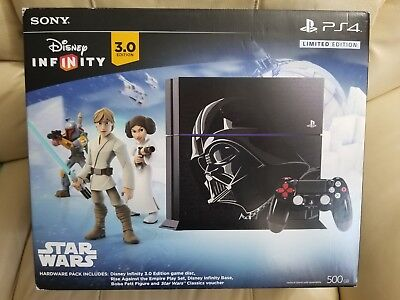 New, Sealed PlayStation 4 - Limited Edition STAR WARS Bundle 500GB (PS4) RARE!