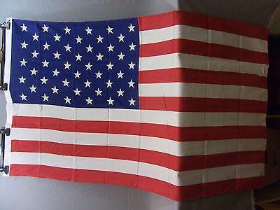 Fahne USA Größe 90cmx 150cm, 100% Polyester gebraucht