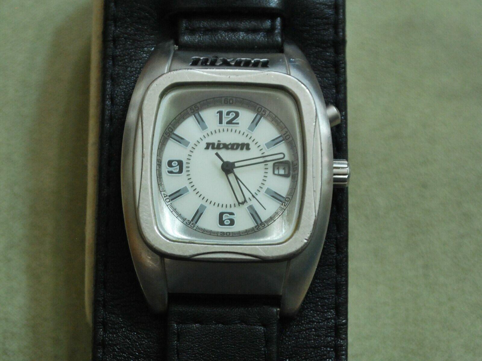 Nice NIXON The Powerslave S.S. Men s Quartz Watch W/Date Light - $63.25