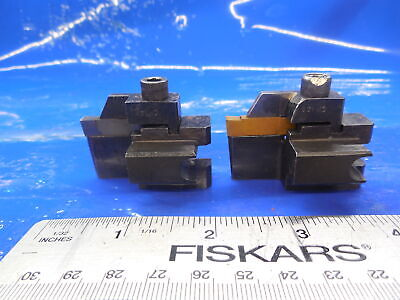 2pcs Kennametal Sb4187l Left Hand Indexable Cut Off Grooving Blade Tool Holder