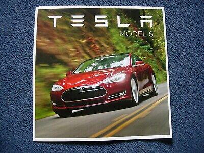 2012 Tesla Model S Brochure