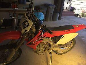 2006 Honda crf450x road legal dual sport