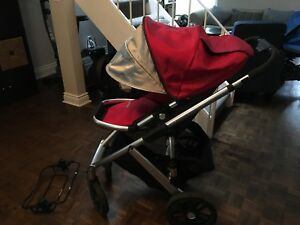 Uppababy Vista 2010 Red GUC