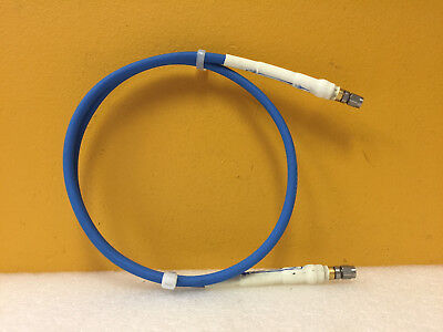 Flexco Fc182 6060 0720 A6 Dc To 18 Ghz 50 Ohm Sma M-m Rf Test Cable. Tested