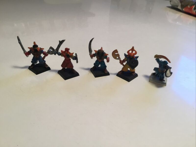 CITADEL ETERNAL CHAMPION PAN TANG INFANTRY LOT PAINTED