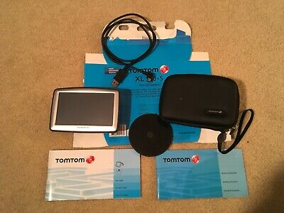 """EUC TomTom XL 330S Car GPS Navigation Device 4.3"""" screen and touch to speech"""