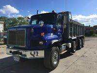 TRIAXLE DUMP TRUCK FOR HIRE