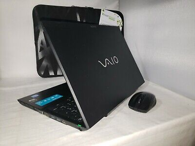 Black Sony Vaio Gaming Nvidia 640m 2tb 8gb i7-3612QM 2.10GHz Windows 10 Bluray