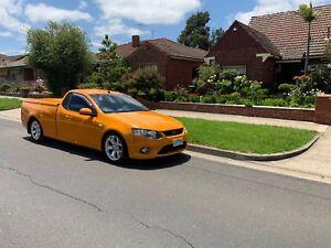 Ford Falcon FG XR6 UTE hard lid RWC Rego Orange