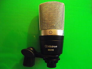 Alctron_MC410 Gold Plated Large Diaphragm Studio Condenser Microphone tube valve