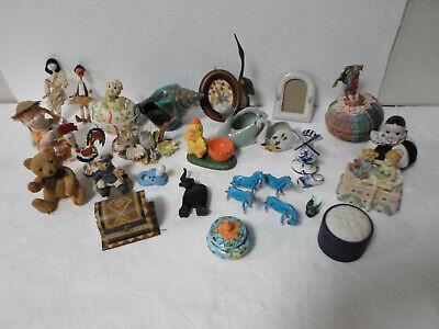 Lot bibelots ceramique decorative