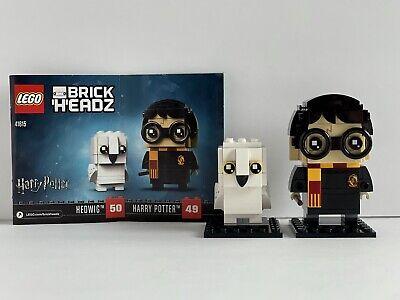 LEGO 41615 Brickheadz Harry Potter & Hedwig 100% Complete w/ Manual