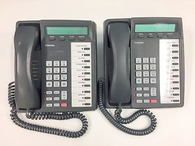 Lot Of 2 - Toshiba Dkt3020-sd Digital Business Phone