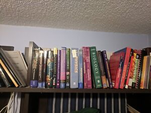 Lot of 65+ textbooks (Accounting, Sci, Eng, etc..)