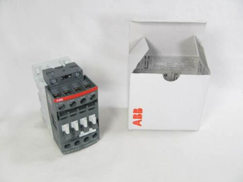 ABB, Contactor, AF09Z-30-01-21, Coil: 24-60 VAC, 20-60 VDC, New in Box, NIB