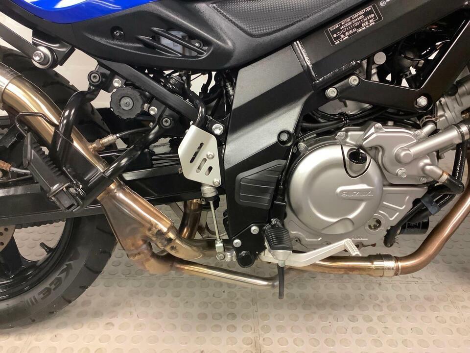 Suzuki DL650A DL 650 V-Strom 2013 / 13 - Only 12095 miles - High Level Exhaust