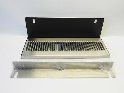 Wilbur Curtis Dt-18bs6l Drip Tray 7 X 18 W 6 Back Splash Genuine New