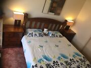 King size Bed with bed side tables Sunshine Brimbank Area Preview