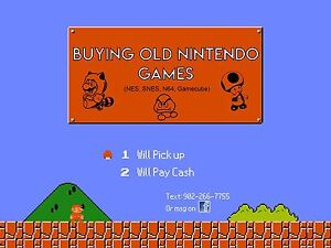 Looking to buy old Nintendo games