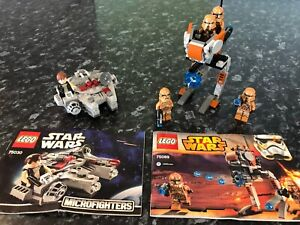 Lego Starwars Minis: 2 Sets Ballajura Swan Area Preview
