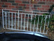 Wrought iron balustrade balcony porch Claremont Nedlands Area Preview