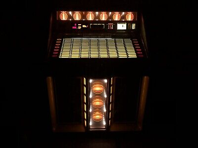 R-91 Rowe 45 Record Jukebox Holds 100 Records RG1 VG COND. WORKING